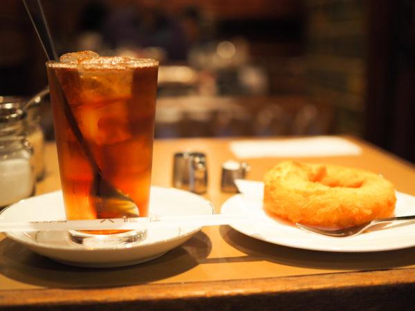 京都 喫茶店 六曜社 老舗 おすすめ コーヒー ドーナツ おやつ