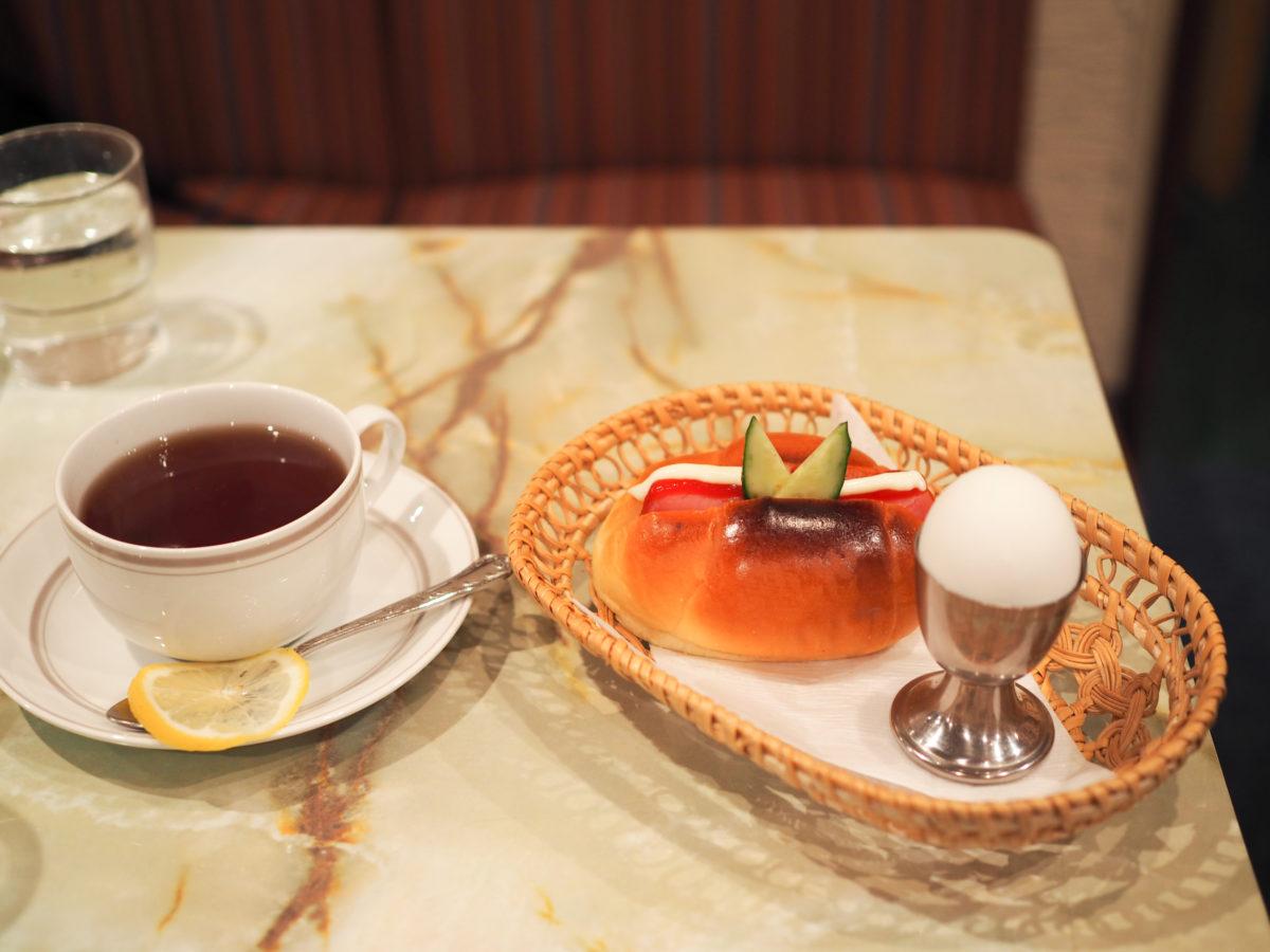 浅草橋 モーニング ゆうらく 喫茶店 asakusabashi morning cafe