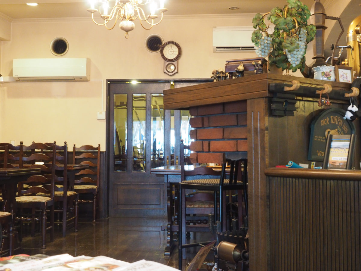 山口県 徳山 周南市 喫茶店 白十字
