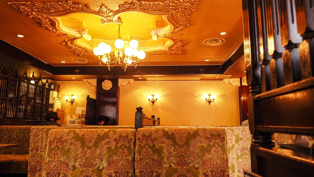 上野 純喫茶 王城 喫茶店 おすすめ ランチ パフェ コーヒー カフェ スイーツ
