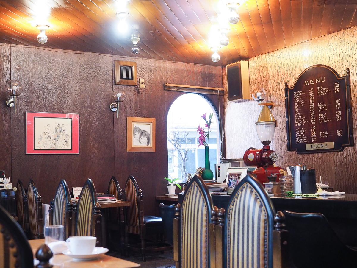 東京 純喫茶 おすすめ 本所吾妻橋 喫茶店 老舗 フローラ コーヒー