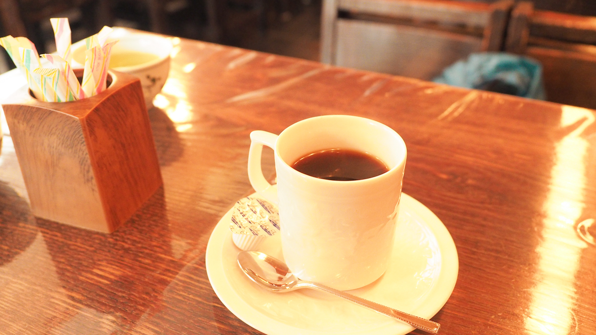 人形町 初音 はつね あんみつ 甘味処 カフェ コーヒー