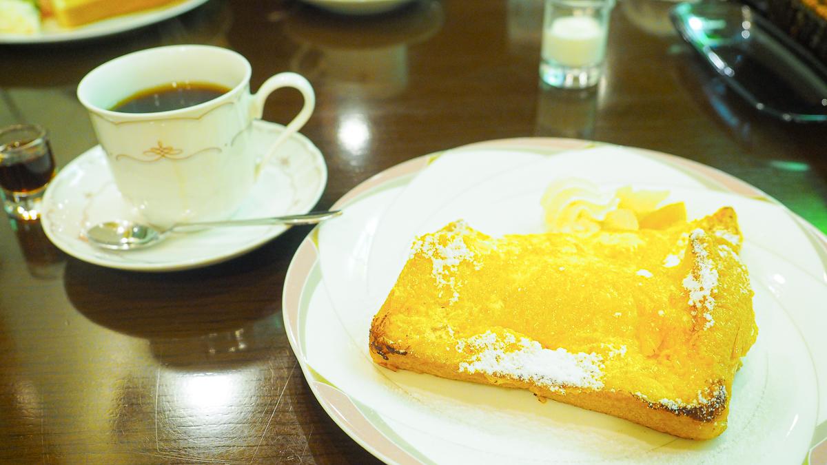 蔵前 モーニング おすすめ 喫茶店 ピポット フレンチトースト カフェ