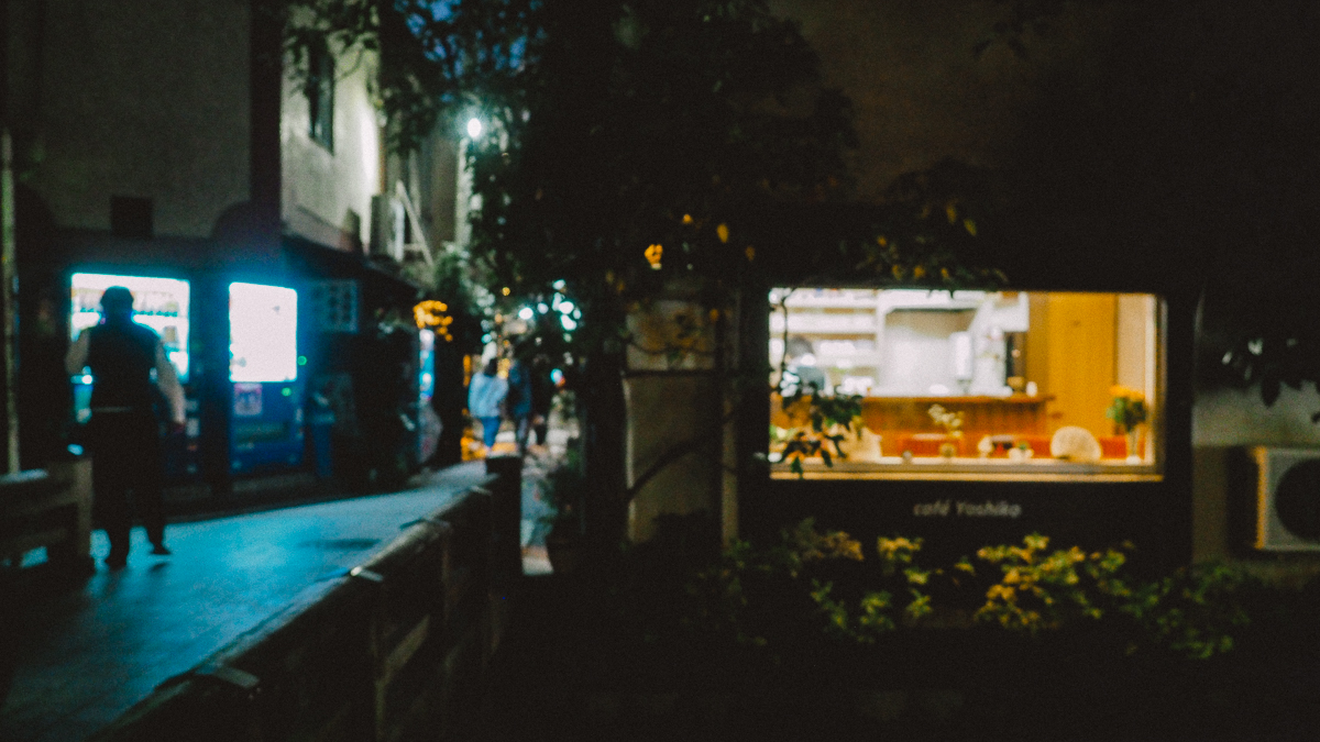 京都 旅行 観光 写真 鴨川 夜