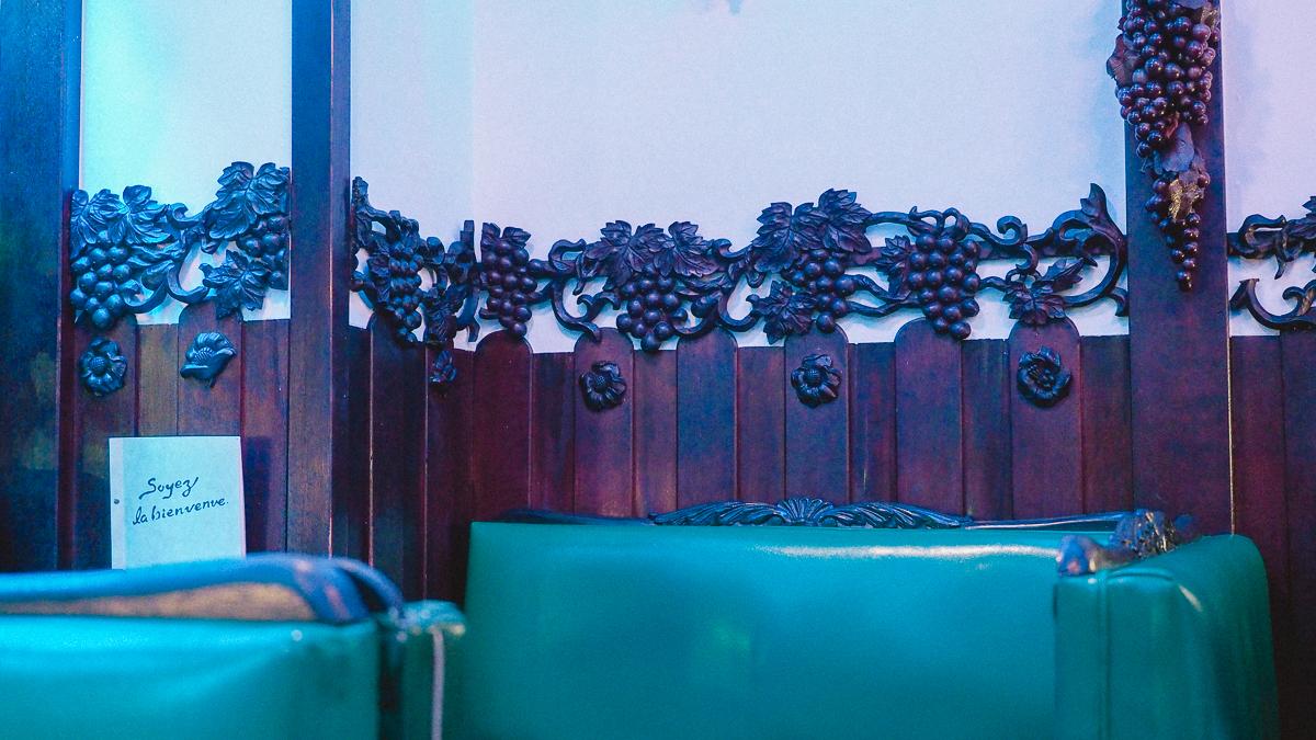 喫茶ソワレ 京都 メニュー ゼリーポンチ デザート スイーツ 純喫茶 喫茶店 老舗 カフェ 観光 場所 グラス 販売 店内